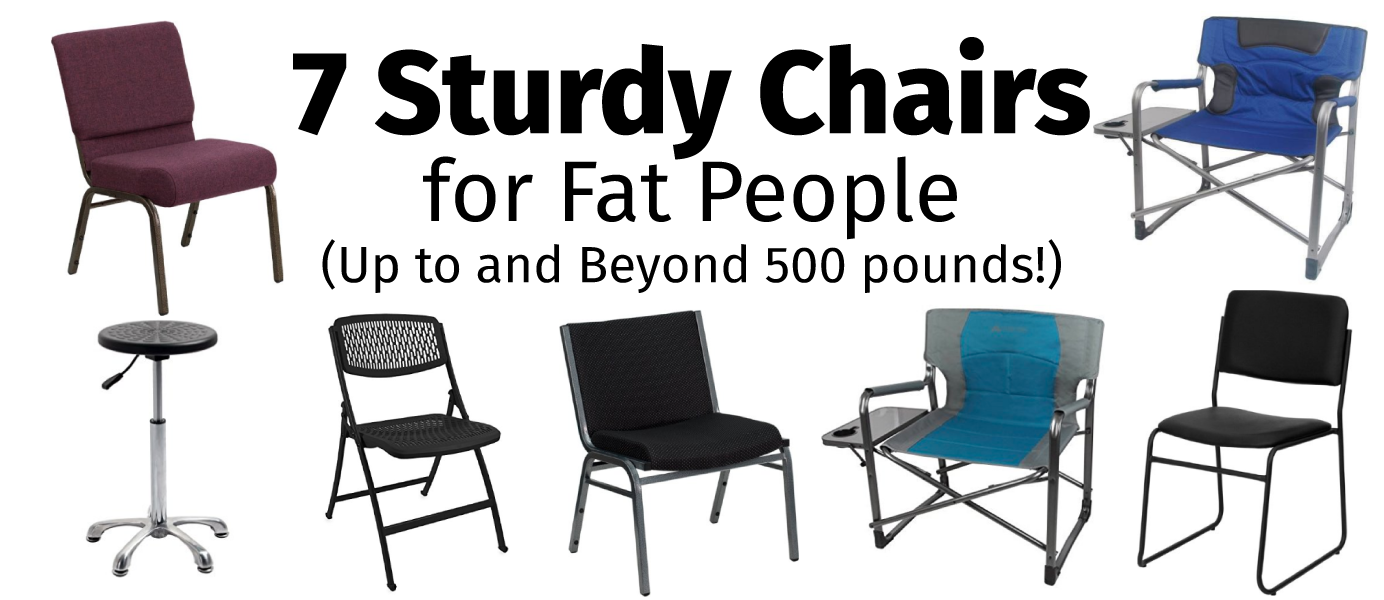 7 Sturdy Chairs for Fat People